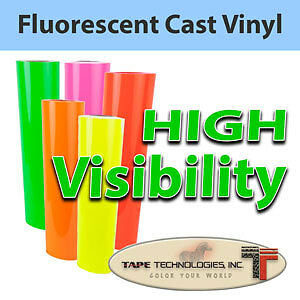 """24"""" X 1 YD Intermediate Fluorescent Films FOR SIGNS"""