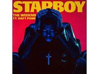 THE WEEKND STARBOY TOUR 2 TICKETS 5th MARCH 2017 Manchester