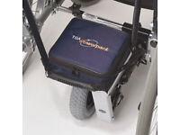 Power pack and light aluminum weight wheelchair