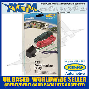 RING-RCT360-12S-COMBINATION-SPLIT-CHARGE-RELAY-KIT-TOWBAR-WIRING-CAMPER-CARAVAN