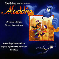 Disney Aladdin Original Motion Picture Soundtrack CD