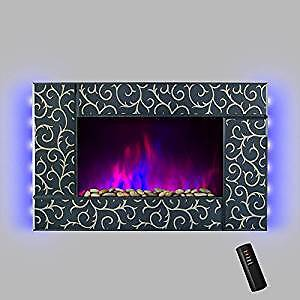 Wall mount fireplace brand new