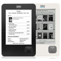 Kobo Wireless eReader with SD card slot  in good working conditi