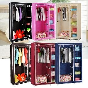 SUPER  Folding Wardrobe Cupboard Almirah IV MX available at Ebay for Rs.1550