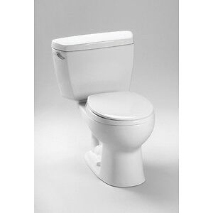 Toto Drake Elongated 2 Piece Toilet Colonial White CST744E#11
