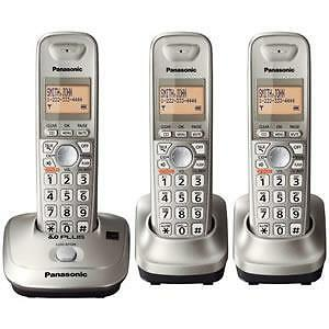 Panasonic KX-TGA421N Home Phone Landline - 3 phone set