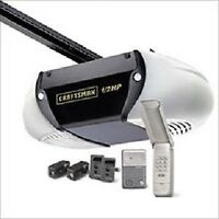 GARAGE DOOR OPENER INSTALLS-FULLY INSURED-WARRANTY-705-718-2400