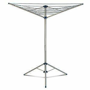 minky 15m indoor outdoor free standing garden rotary airer. Black Bedroom Furniture Sets. Home Design Ideas