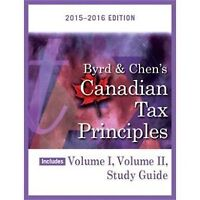 ADMS 3520 : Byrd & Chen's Canadian Tax Principles + 2015 midterm