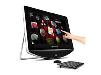 """Packard Bell OneTwo 23"""" Touchscreen All in One PC"""