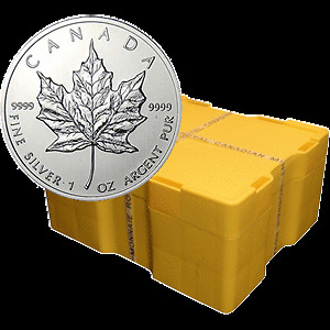 Canada $5 Silver 1 oz Maple Leaf Coins Buy / Sell