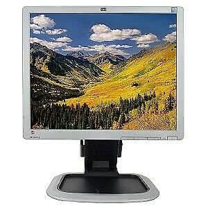 "Last One (14 Sold). Beautiful HP 19"" LCD Monitor, Rotatable"