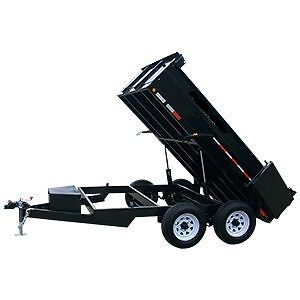 Contractor and Residential Dump Trailers