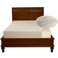 Envirotech Mattress BrNew NonSm. Used 1 wk for Allergies Asthma