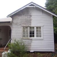 Siding washing