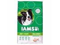 IAMS ADULT SMALL & MEDIUM BREED CHICKEN DRY DOG FOOD - 12KG