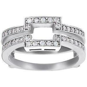 sterling silver ring guard - Wedding Ring Guards