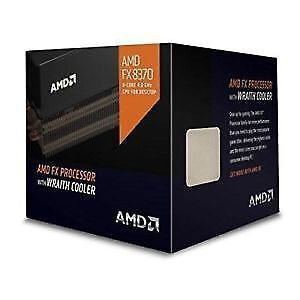 AMD FX-8370 with AMD Wraith Cooler Vishera 8-Core 4.0 GHz