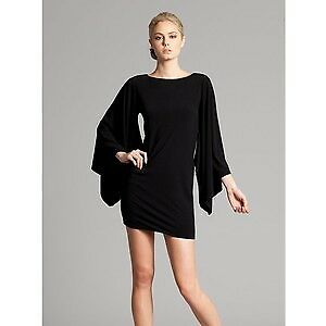 Black dress kimono sleeves GUESS by Marciano size M