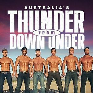 THUNDER FROM DOWN UNDER tickets!