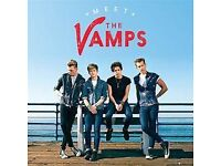 4x TICKETS FOR NEWMARKET RACES WITH THE VAMPS PLAYING! GRANDSTAND ENCL. BARGAIN!!