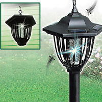 2-IN-1 SOLAR INSECT ZAPPER/LIGHT