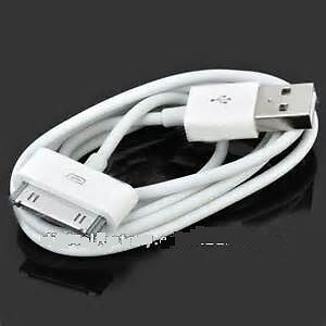 CABLE USB IPHONE & IPOD MODELE 30 PINS