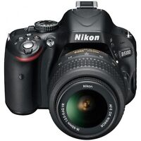 Nikon D5100 Digital SLR Camera WITH 18-55mm VR Lens Kit
