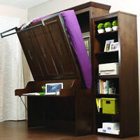 Queen & Double Murphy Beds 4 models different options from $1699