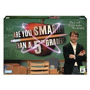 Are You Smarter Than a Fifth Grader Board Game