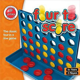 In box brand new Board Game-Classic Score 4 for Children, adults