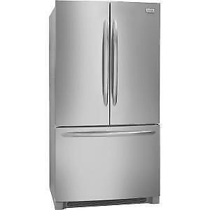 "Frigidaire Gallery FGHG2368TF 36"" Wide Counter-Depth French Door Refrigerator in Burlington (BD-2246)"