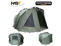 NGT Fortress 2 Man Bivvy As New Barely Used