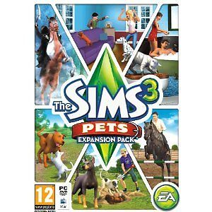 Electronic Arts The Sims 3 Pets Expansion Pack PC New & Sealed