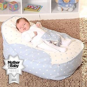 Bambeano Baby Beanbags Twins Bouncy Chair Seat Pink Blue Newborn