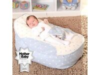 Bambeano baby beanbags twins bouncy chair seat pink blue newborn