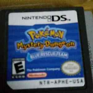 Pokemon Mystery Dungeon Blue & Explorers of Time bundle