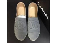 Chanel Nubuck Espadrilles in Various styles & Colours
