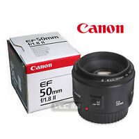 Canon EF 50mm f/1.8 II Lens with Box