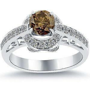 wedding of elegant rings chocolate diamonds diamond levian