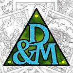 Fantasy Coloring Books & Puzzles