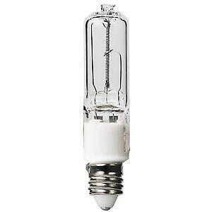 Mini Candelabra JD E11 50W watt Halogen 120 Volt JD50/CL