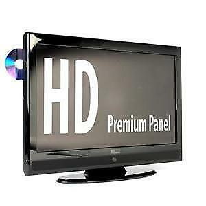 lcd tv dvd combi ebay. Black Bedroom Furniture Sets. Home Design Ideas