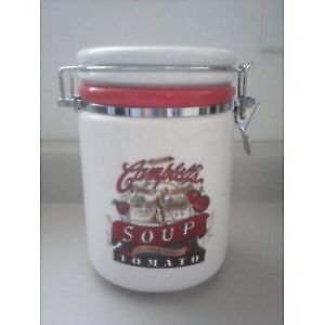 Campbells Heritage Collection Ceramic Canister