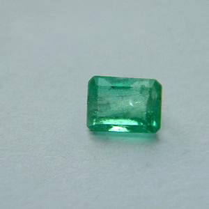 0.22 ct Natural Green Colombian Emerald