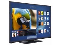 """42""""INCH SMART LED HD WIFI TV WITH BUILT IN FREEVIEW AND BOX **CAN BE DELIVERED**"""