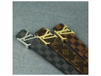 Mens brand new belts LV many designS available in all sizes
