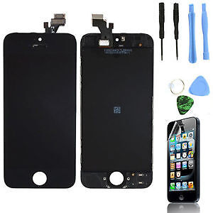 Black New For iPhone 5c/5s LCD Display Digitizer Touch Screen