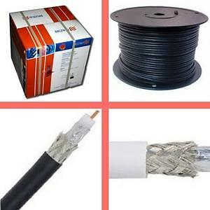 Weekly promo! RG6 Coaxial  cable: Standard, FT4,outdoor, Starting from $49.99