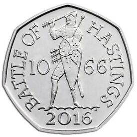 1066 battle of hastings 50p